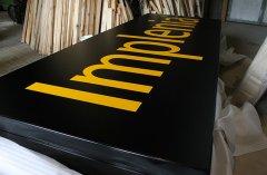LuxDim Kranleuchtkasten mit Spanntuch